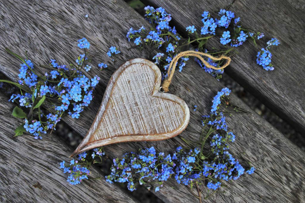 The Secret to Great Relationships - Heart on Wood